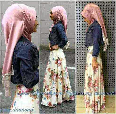 Baju Gamis Modern Hijab Aminah G.73