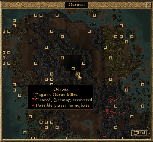 Vegtabill S Ambages Vegtabill S Guide To Map Notes In Tes3 Morrowind
