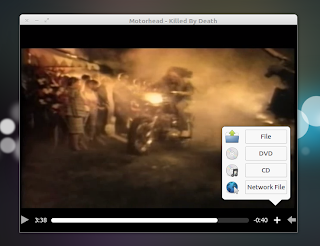 Audience media player screenshot