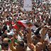 Tahrir Square comes alive again as masses demand change