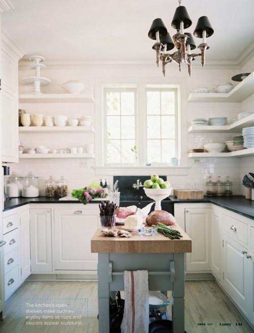 I heart shabby chic white kitchen heaven 2012 i heart - Shabby chic kitchen ...