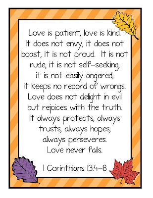 gwhizteacher, idbadge verse, 1 corinthians 13:4-8