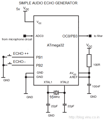 Wiring Machine  Microphone Echo Circuit Diagram