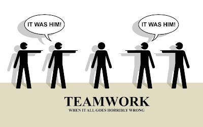 teamwork when it goes horribly wrong