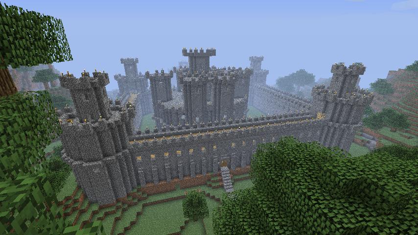 Крепость с ветвей большого