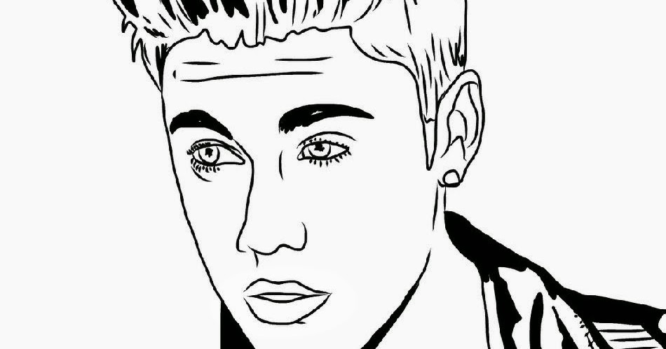 Justin Bieber Coloring Pages Justin Bieber Coloring Pages