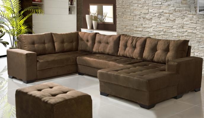 Sala De Estar Com Um Sofa ~ Sala de Estar Decoração Suave ~ Universo Feminino