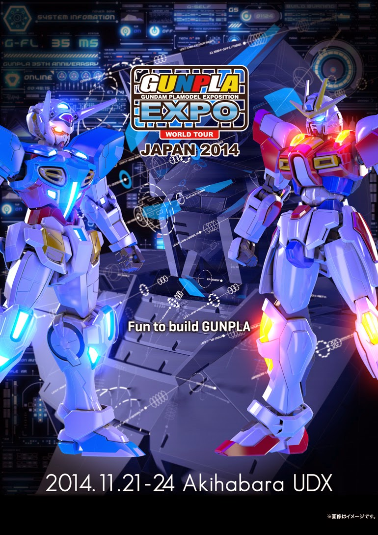 GunPla EXPO World Tour Japan 2014 Announcemnents