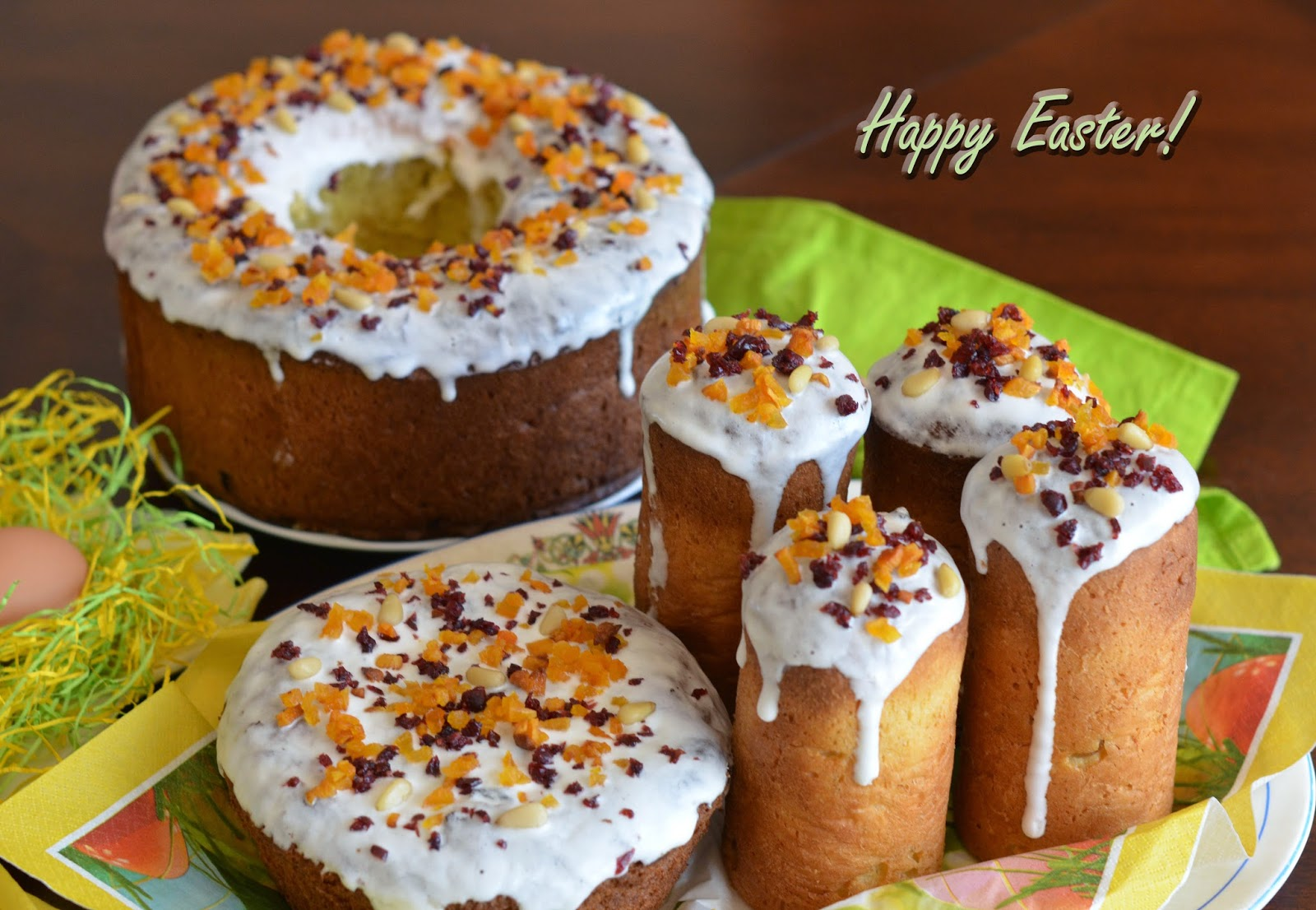 Kulich - Orthodox Easter Bread Recipe | RecipeStudio