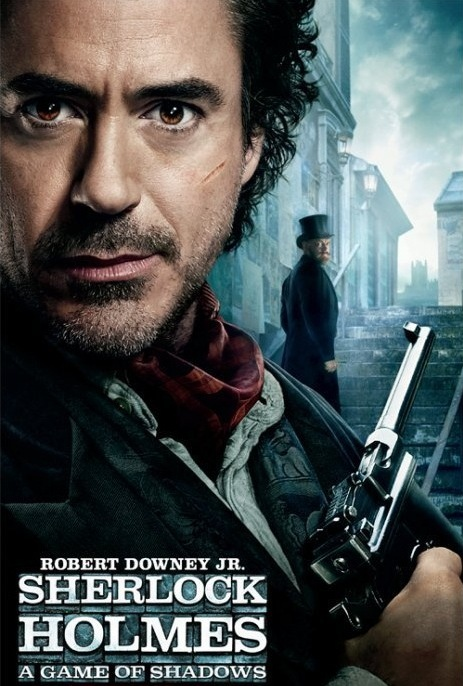 sherlock holmes 2 movie poster download