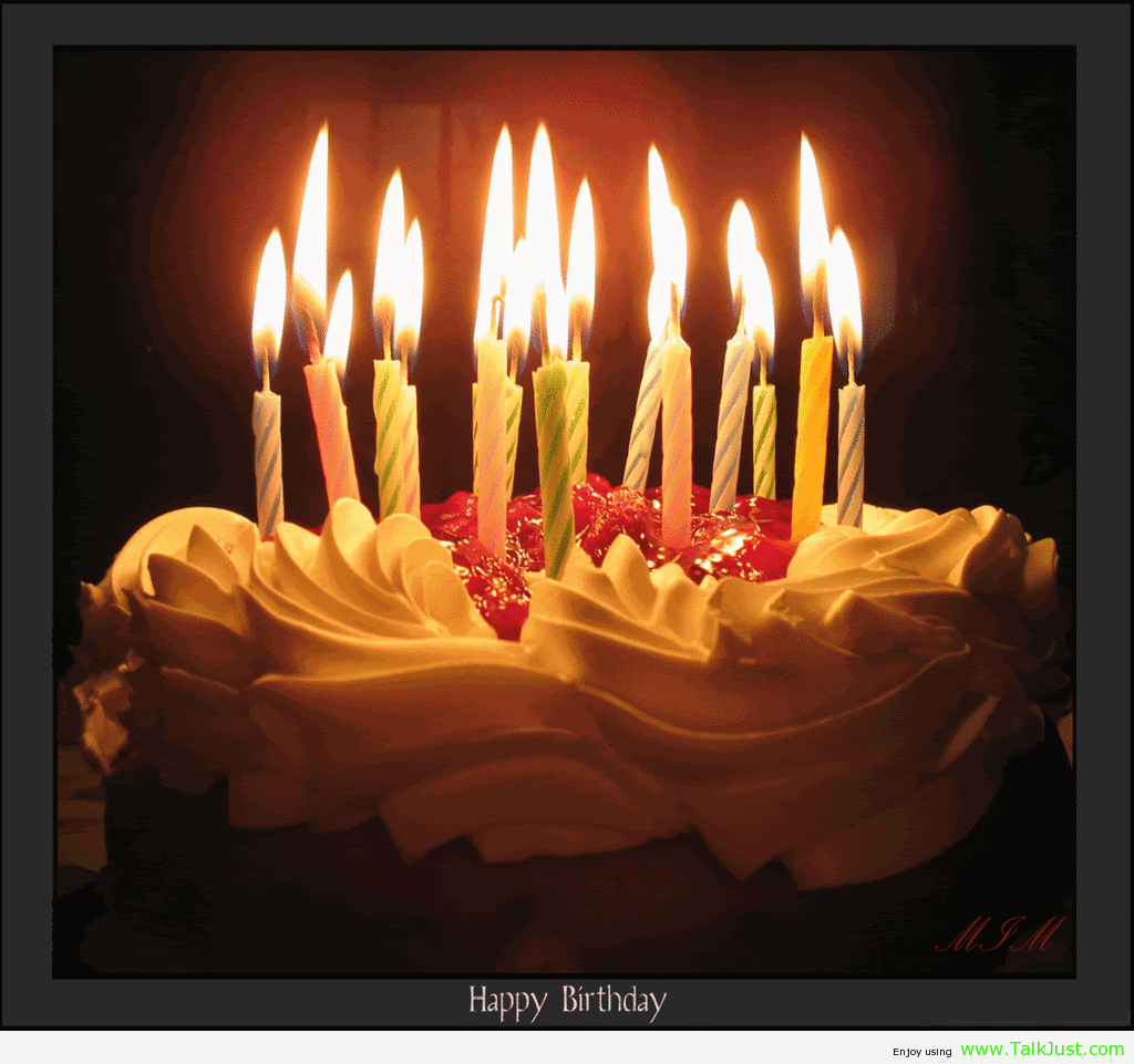 Birthday Cake With Candles Images & Pictures - Becuo