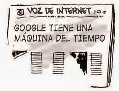 Front page tipo cómic - Google herramientas