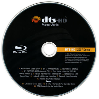 Blu-ray dts master audio demo