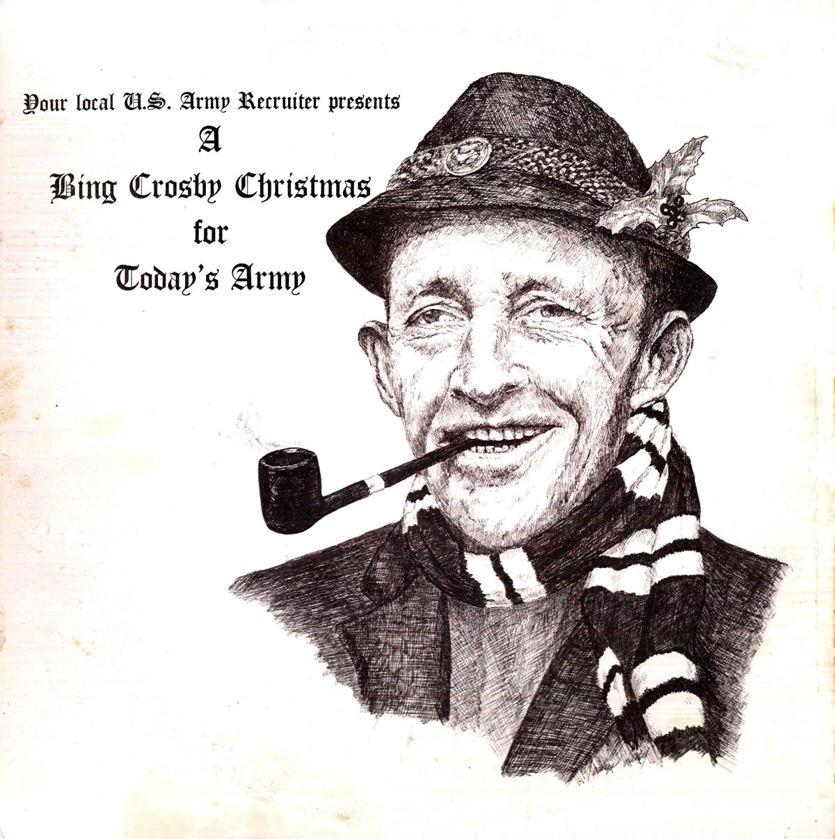 i have a pretty long and spotted history of sharing military radio shows with you and heres another one thats been almost lost to the sands of time - Bing Crosby I Wish You A Merry Christmas