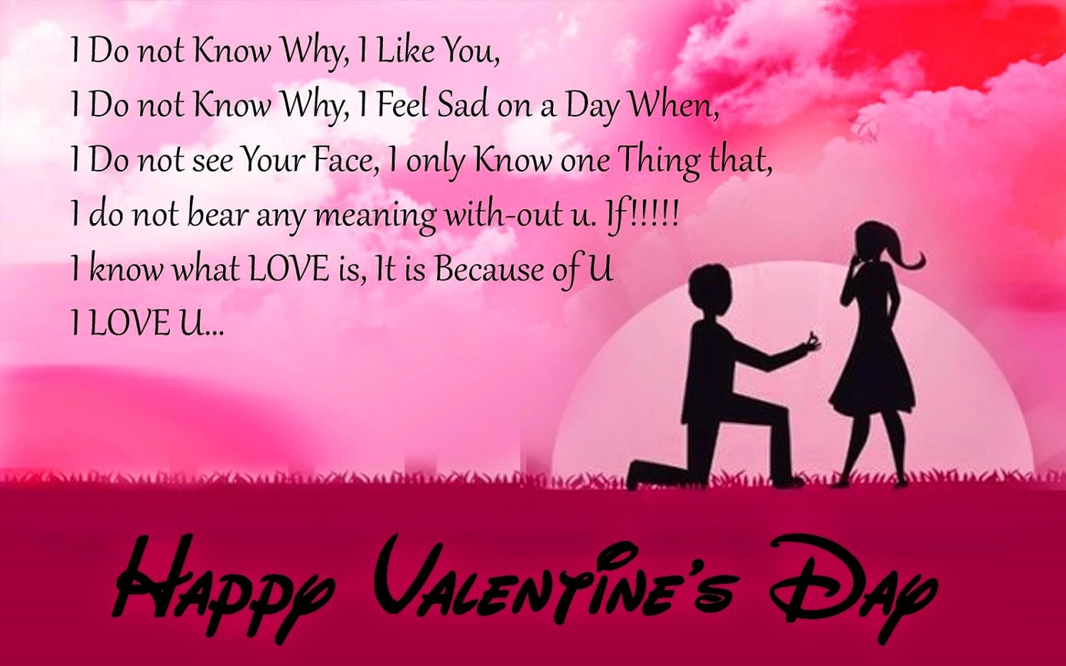 happy valentines day facebook status images