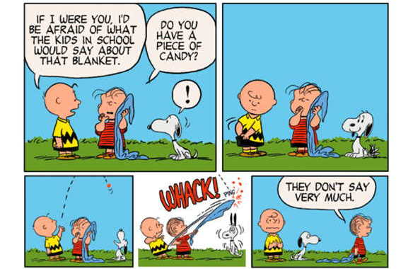 Every bit a gem now as when it originated peanuts was created october