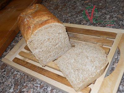 Pan de molde elaborado siguiendo método mixto.