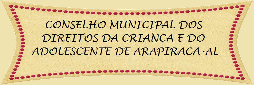 CMDCA Arapiraca
