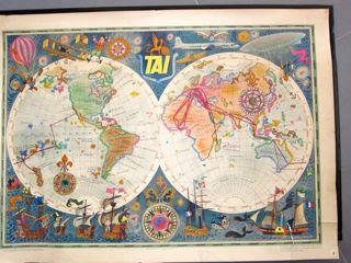 Planisphère. Document déssiné par L.M BAYLE d'après les cartes anciennes les plus authentiques.