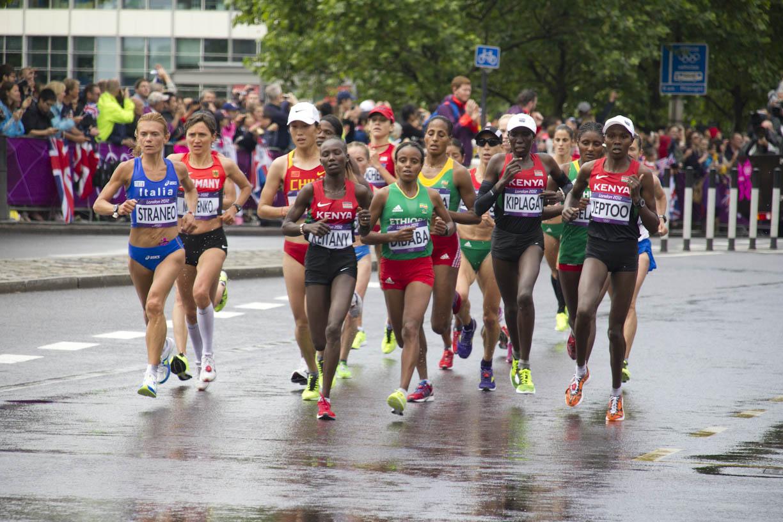 Women Marathon Runners Of the women s marathonWomen Marathon Runners Bodies