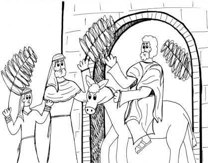Childrens Bible Coloring Pages