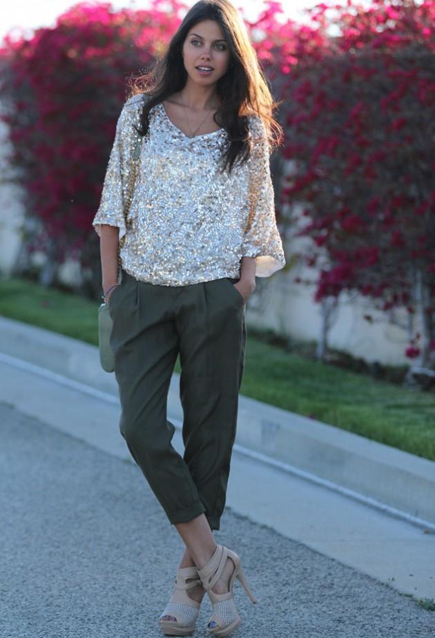 Outfits de moda | Lentejuelas para la tarde