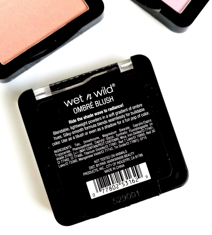 Wet n Wild Ombre Blush Review