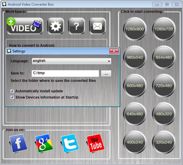 برنامج مجاني لتحويل الفيديوهات لتتوافق مع جميع أجهزة أندرويد Android Video Converter Box-1-9