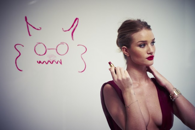 Rosie Huntington-Whiteley – GQ Magazine Photoshoot Outtakes