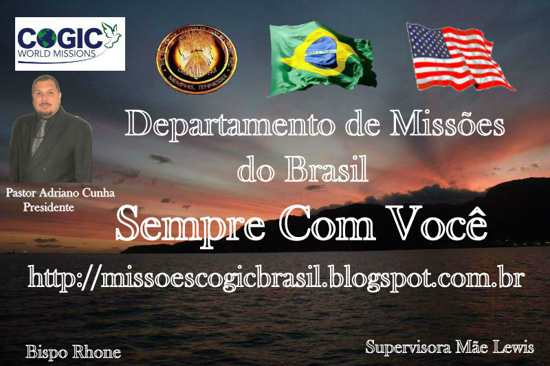 MISSÕES COGIC BRASIL