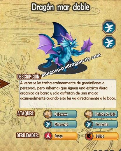 imagen de las caracteristicas del dragon mar doble