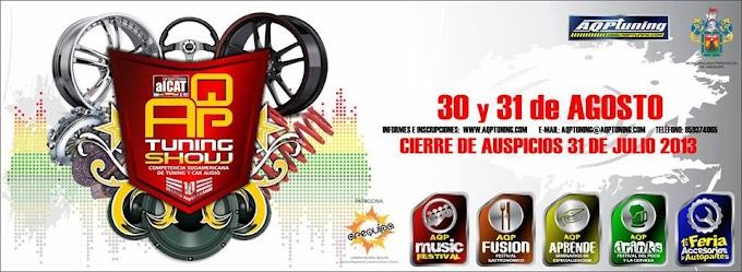AQP Tuning Show 2013 - Competencia Sudamericana de Tuning y Car Audio (30 y 31 agosto)