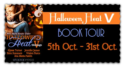 Halloween Heat V Anthology Book Tour: Book Excerpt & Giveaway
