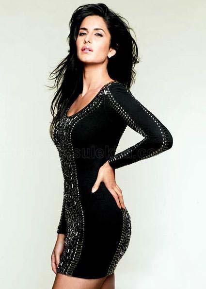Katrina Kaif in Tight Black Dress