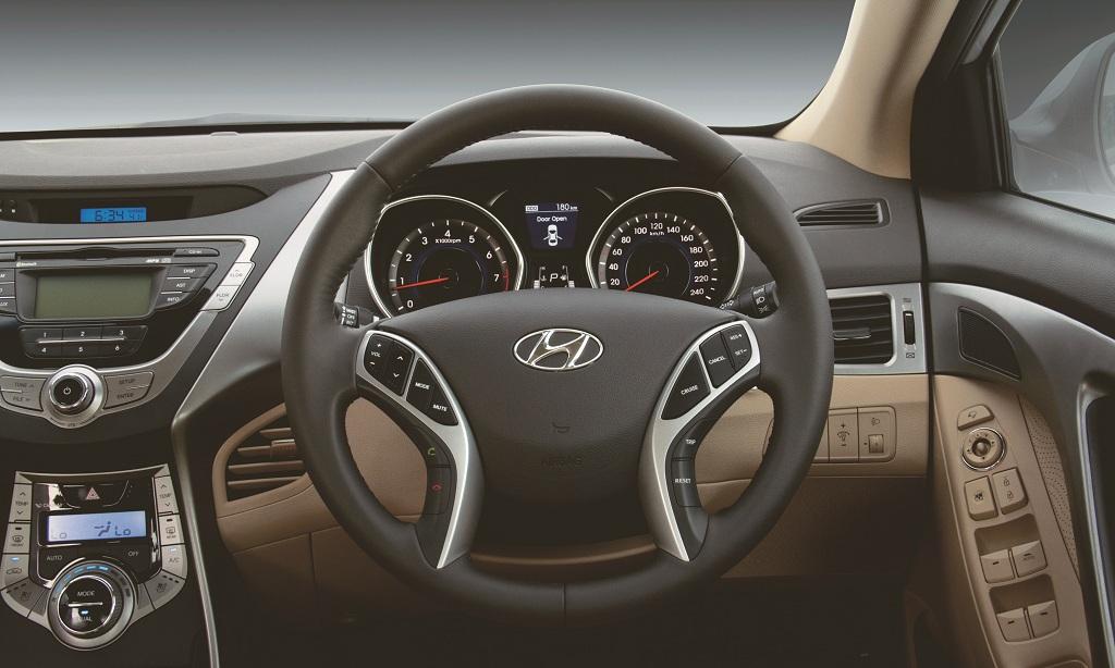 Hyundai Neo Fluidic Elantra Sports Car Racing Car