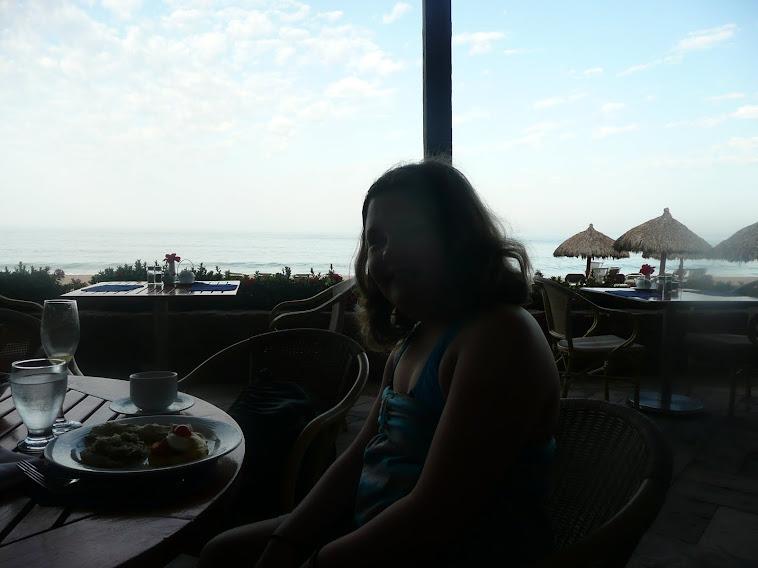 Jessica au déjeuner