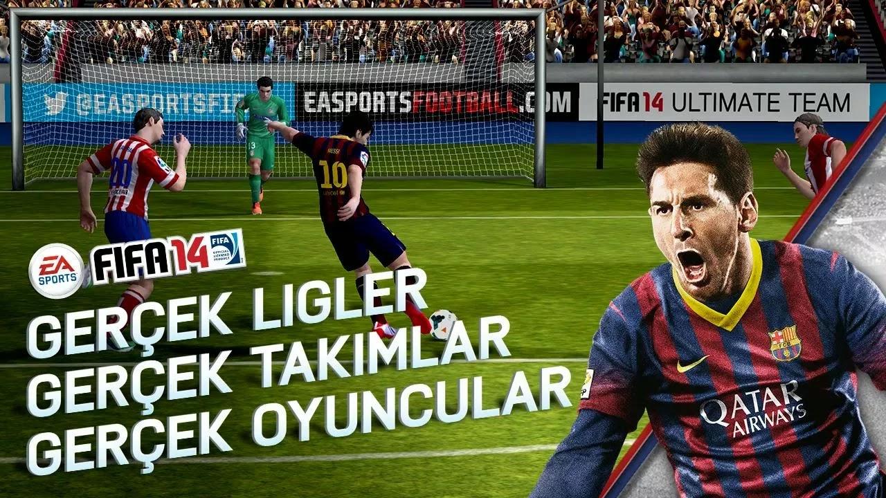 Android FIFA 14 Apk resimi 5