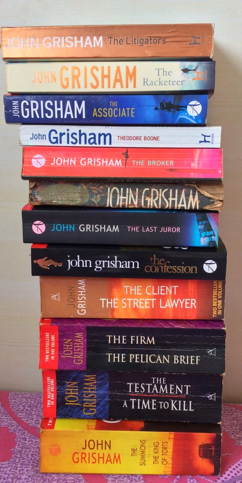 Courtroom drama books - John Grisham