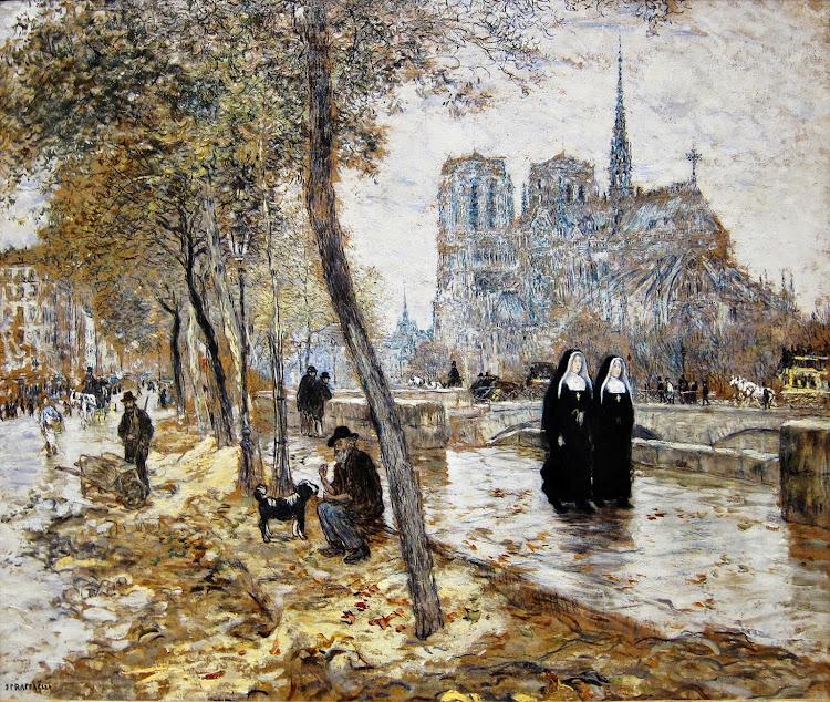Jean-François Raffaëlli - Notre Dame