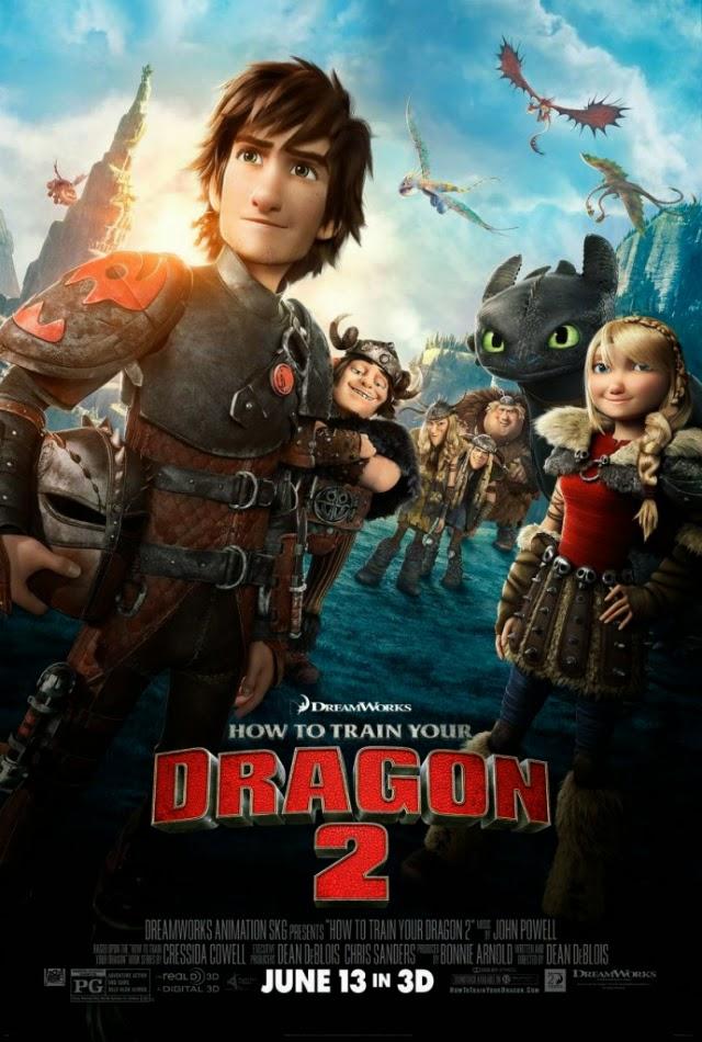 La película How to Train Your Dragon 2 ( Cómo entrenar a tu dragón 2 )
