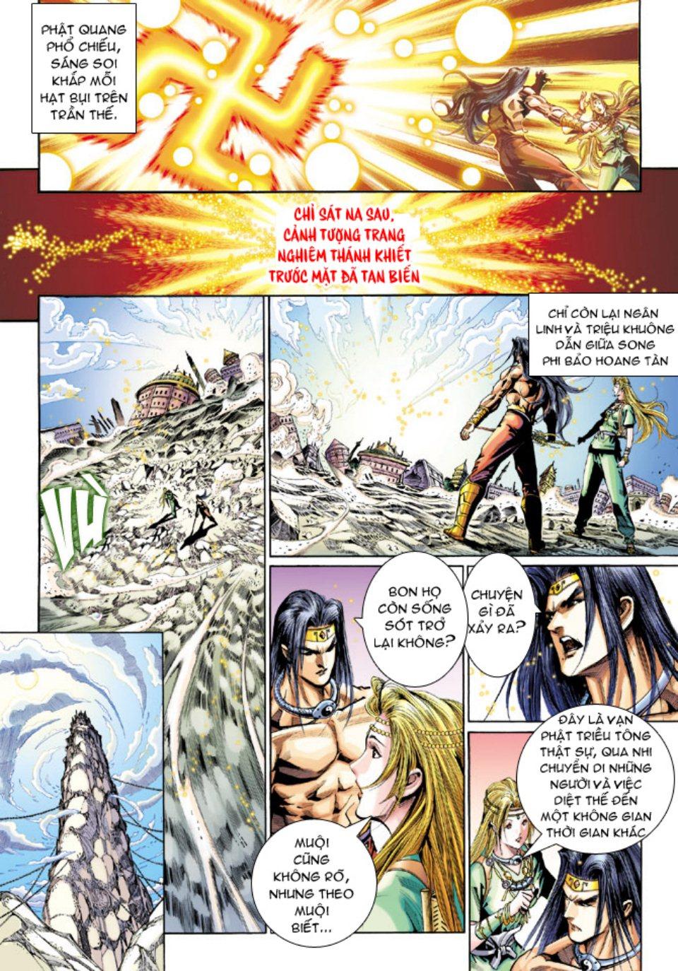 Thiên Tử Truyền Kỳ 5 - Như Lai Thần Chưởng chap 214 - Trang 19