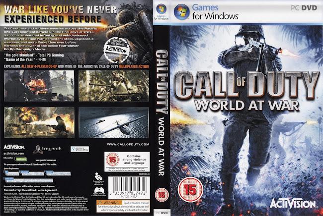 call of duty word at war pc portada