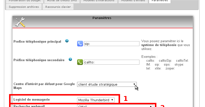 Comment utiliser simple crm configuration recommand e - Comment utiliser les couverts a table ...