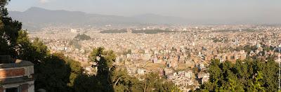 Катманду с Обезьяньего храма