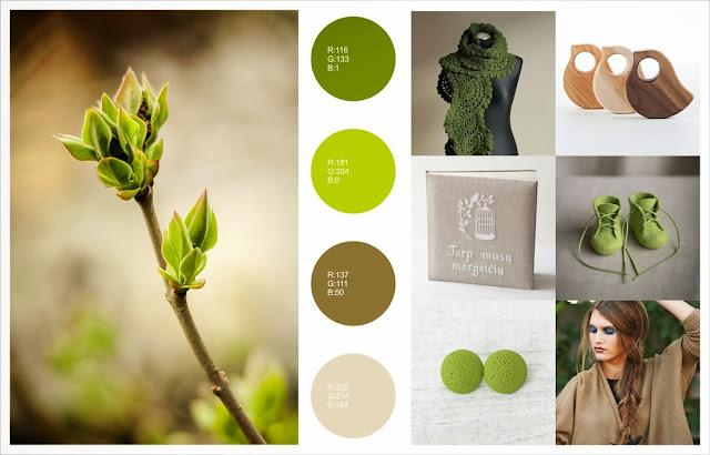 spring color gift guide
