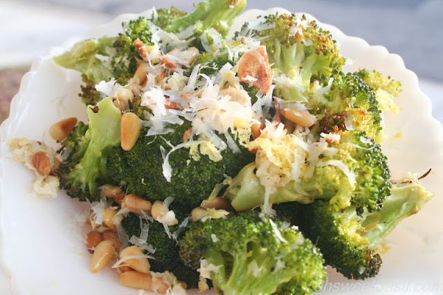Lemon Roasted Broccoli