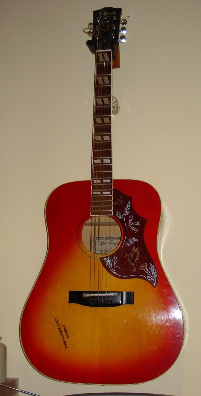 Suzuki Violin Company Guitar