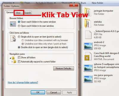 Ini trik sederhana dan cukup ampuh untuk membuka  Membuka Folder Tersembunyi Di Windows