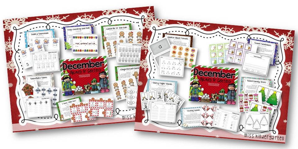 http://www.miss-kindergarten.com/2013/11/winter-activities-literacy-and-math.html