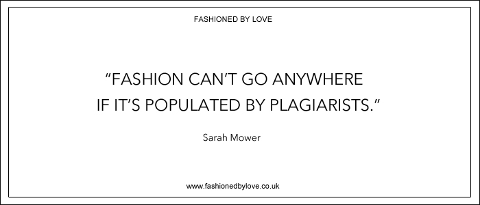via fashioned by love | best fashion & style quotes | Sarah Mower